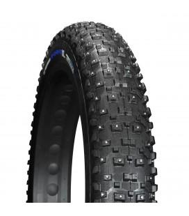 "Dekk & Slange Vee Tire Piggdekk Fatbike Snowshoe XL 26x4,8"" Silica 240 pigg VRB375120STUD"
