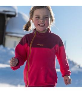 Genser og Fleece Barn Bergans Ruffen Fleece Jacket Kids 7955