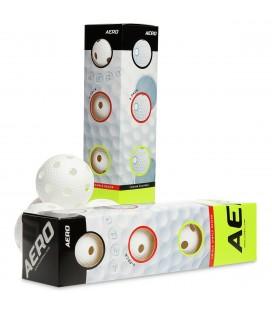 Innebandyballer Salming Aero Floorball 4-PK 4131888-4