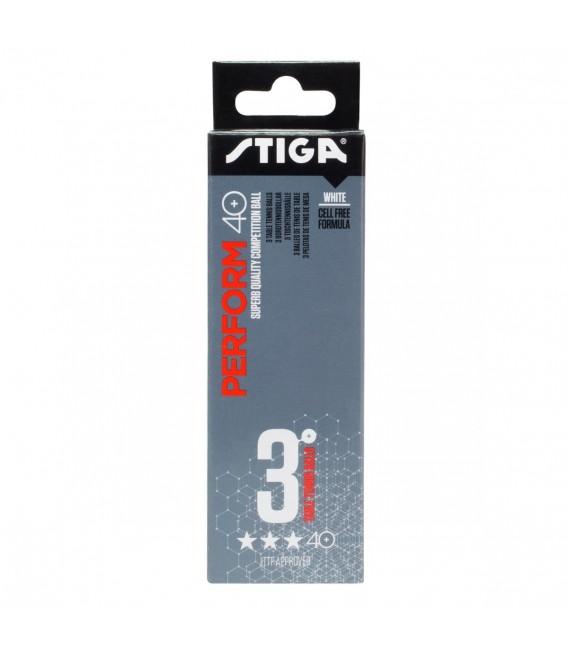 Bordtennis Stiga Perform 3-star ABS 3-pack White 1113-2110-03 59 kr
