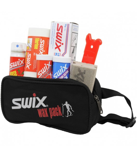 Smørepakker Swix P34 XC Wax Kit m/7 Deler P0034 429 kr