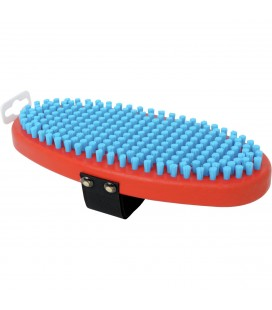 Swix T160O Brush Oval, Fine Blue Nylon