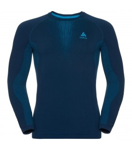 Undertøy Overdel Herrer Odlo Performance Warm Top Crew Neck LS 188032