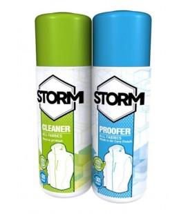 Vask/Impregnering Storm Cleaner/Proofer Twin Pack 300ml 531302