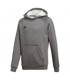 Genser og Fleece Barn Adidas Core18 Hoddy Youth CV3429