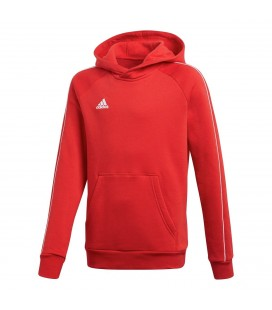 Genser og Fleece Barn Adidas Core18 Hoody Youth CV3431