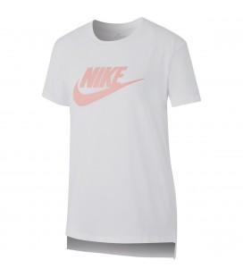 T-skjorter Barn Nike Girl Nsw Tee Dptl Basic Futura AR5088