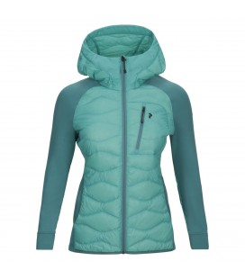 Vattert og Dunjakker Damer Peak Performance Womans Helium Hybrid Jacket G63081080