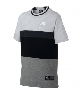 T-skjorter Barn Nike Air Boys' Short-Sleeve Top AQ9506