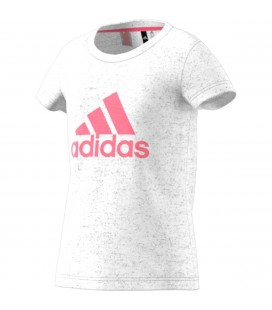 T-skjorter Barn Adidas Youth Girl Logo Tee CF7253