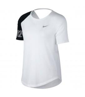 T-skjorter, Topper og Pique Nike Nk Miler Top Short Sleeve Sd Dame AV8177