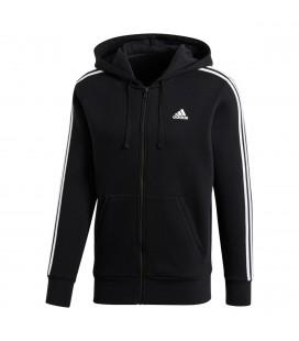 Genser Herrer Adidas Ess 3 Stripes Full Zip Herre B47368