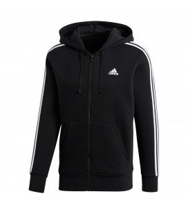 low priced ea2e8 83ccf Adidas Ess 3 Stripes Full Zip Herre