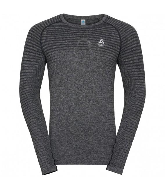 Genser Herrer Odlo T-Shirt Long Sleeve Crew Neck Seamless Element Herre 312632 499 kr