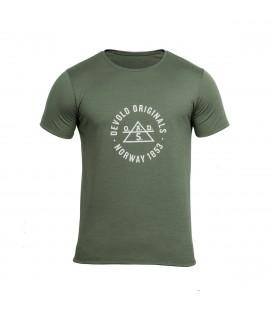 T-skjorter og Pique Herrer Devold Original Tee Herre GO 180 281 B