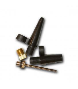 Sykkelpumper Assist Nippel sett - 4 deler plast/metall 0661007-010
