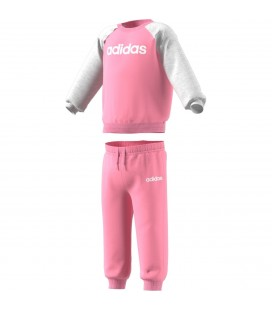 Junior & Barneklær Adidas Joggedress Jr Jente DV1286