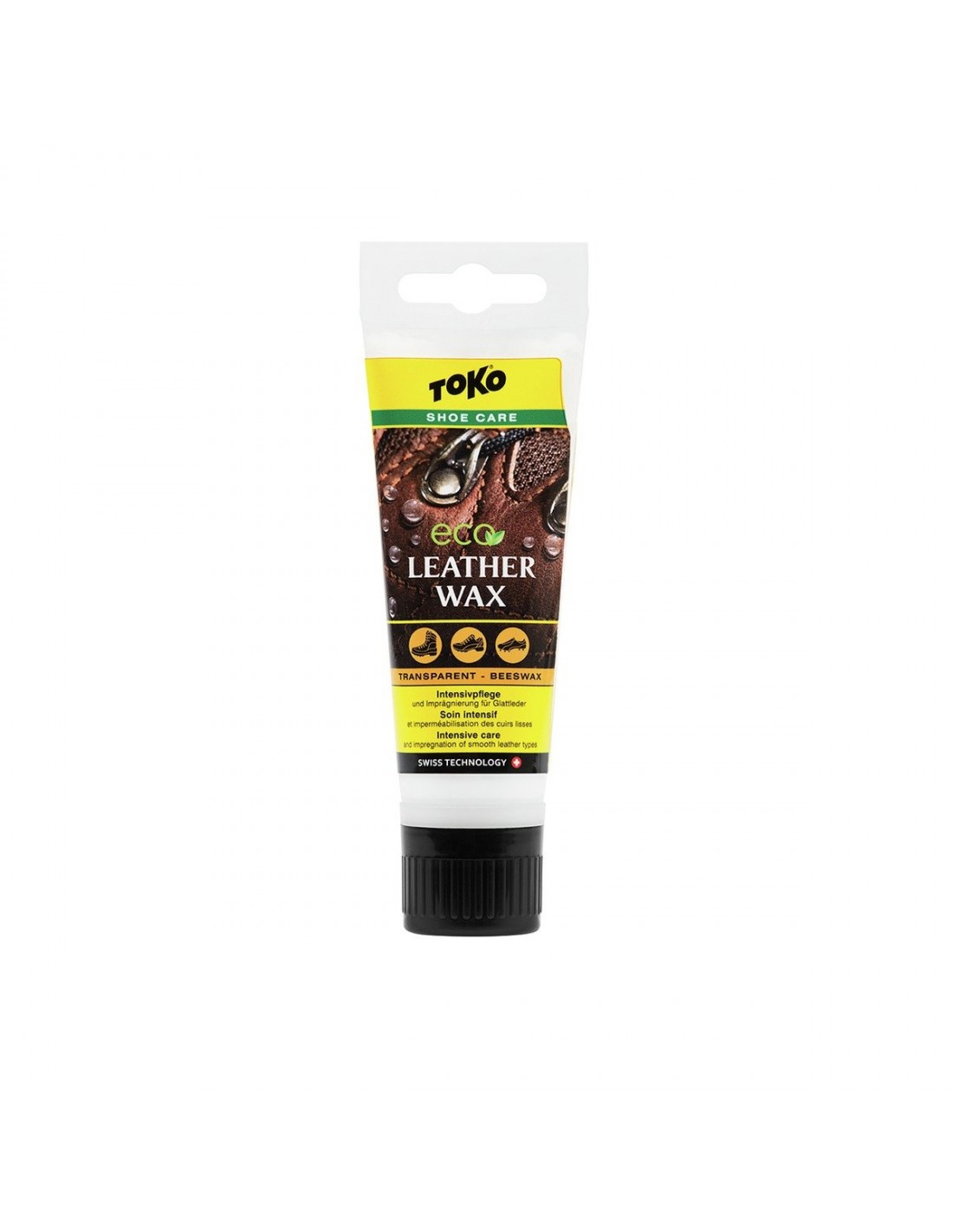 Impregnering Toko Leather Wax Transp-Beeswax 75ml 5582667 119 kr