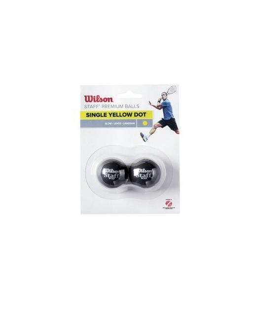 Tennis & Squash Wilson Staff Squash Ball Yellow Dot WRT617300 39 kr
