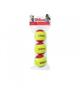 Wilson Starter Red Tennisballer 3pk