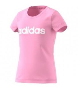 T-skjorter Barn Adidas Youth Girl Lin Tee DV0363