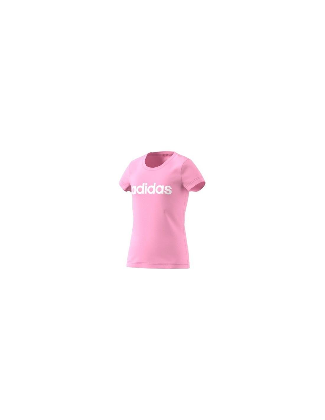 de5adc98 T-skjorter Barn Adidas Youth Girl Lin Tee DV0363 ...