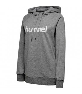 Genser Damer Hummel Cotton Logo Hoodie Dame 203517