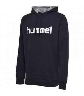 Genser Herrer Hummel Cotton Logo Hoodie Herre 203511