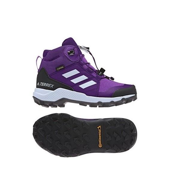 Hikingsko Barn&Junior Adidas Terrex Mid GTS Junior Purple BC0597 1,099.00