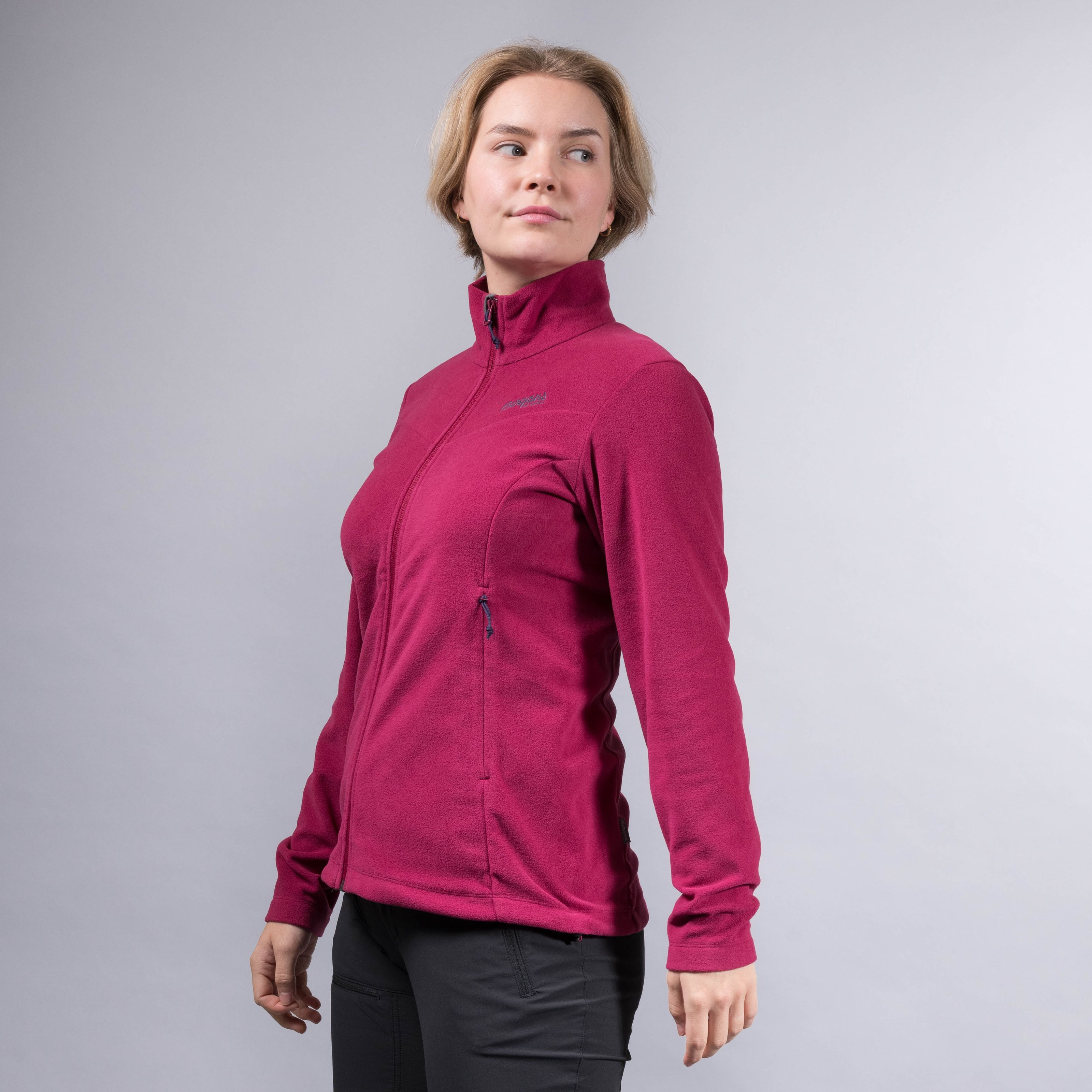 Bergans Finnsnes Fleece Jacket Dame | SportsDeal