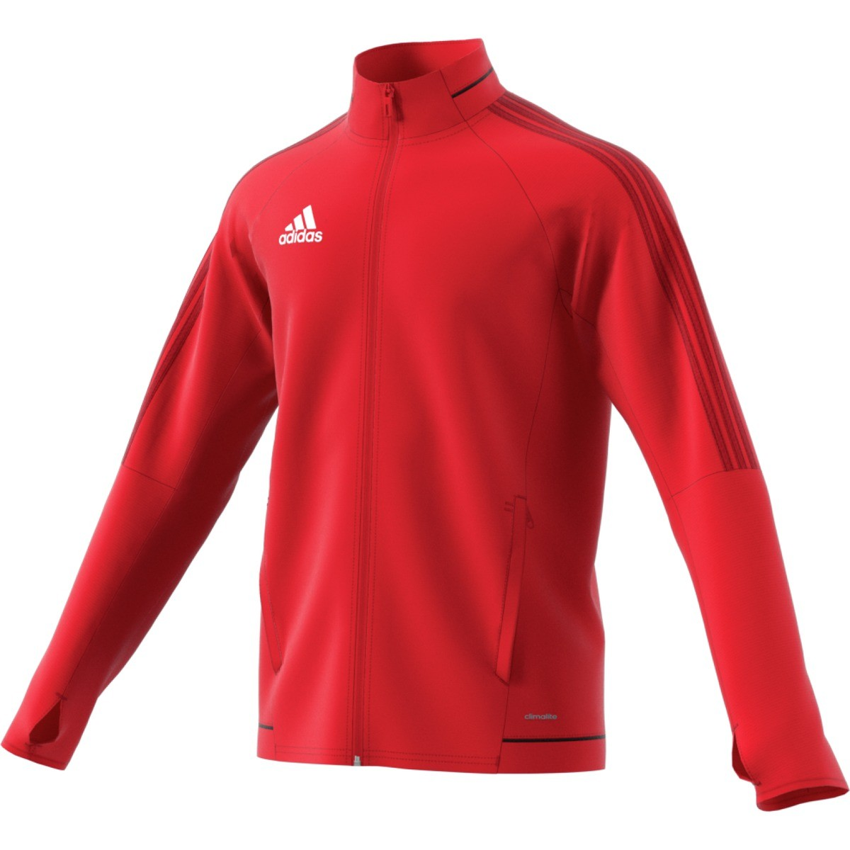 Adidas Tiro17 Trg Jacket Rød | SportsDeal