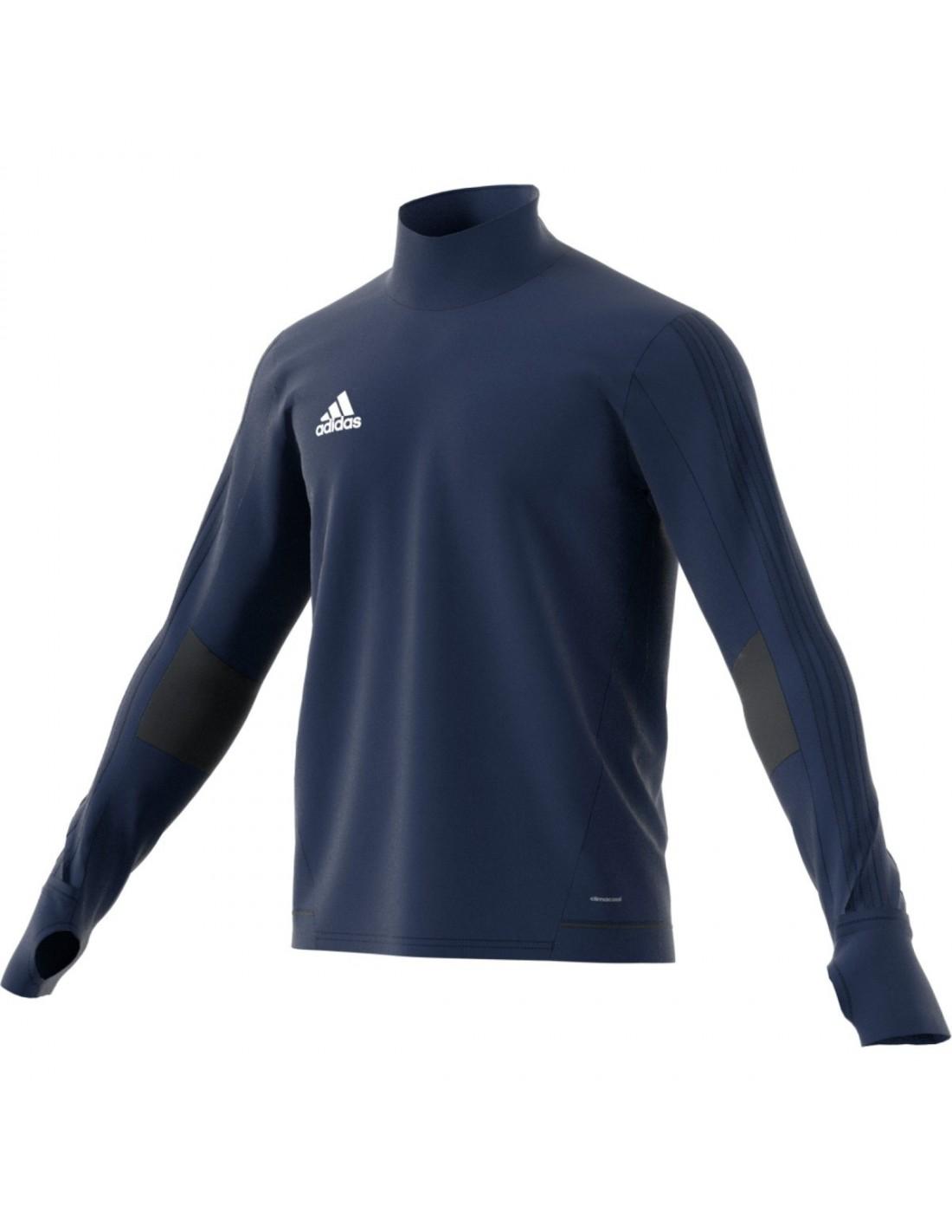 Genser Herrer Adidas Tiro17 Trg Jacket Blå BQ2751 449 kr