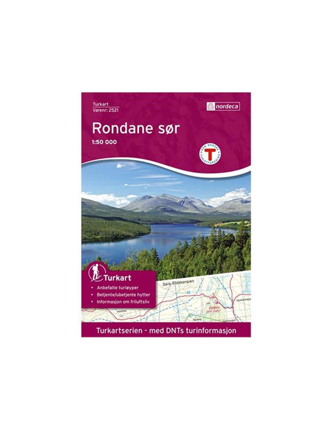 Nordeca Rondane Sør 1:50 000
