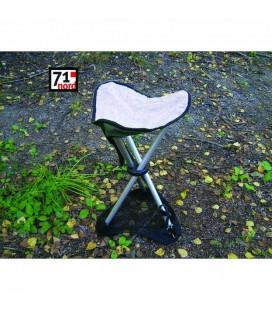 EP Kryss-stol med truge & skinnsete